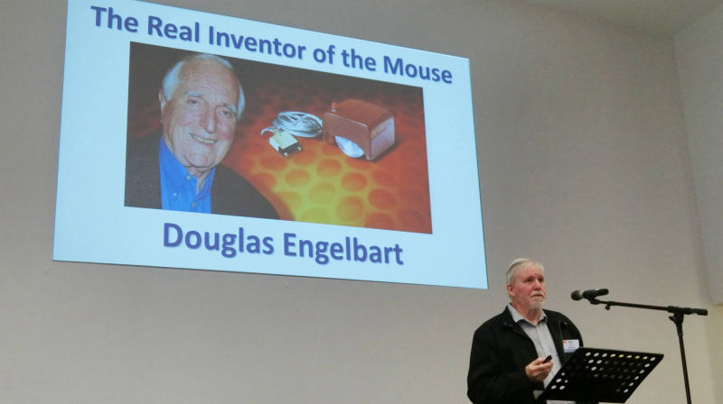 "John Ewen - Browns Bay U3A ""The History of the Mouse"""